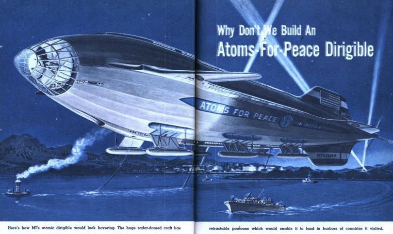 Атомные дирижабли