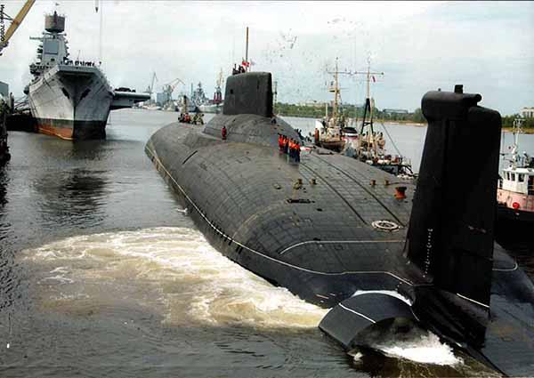 Самая длинная подводная лодка практически готова