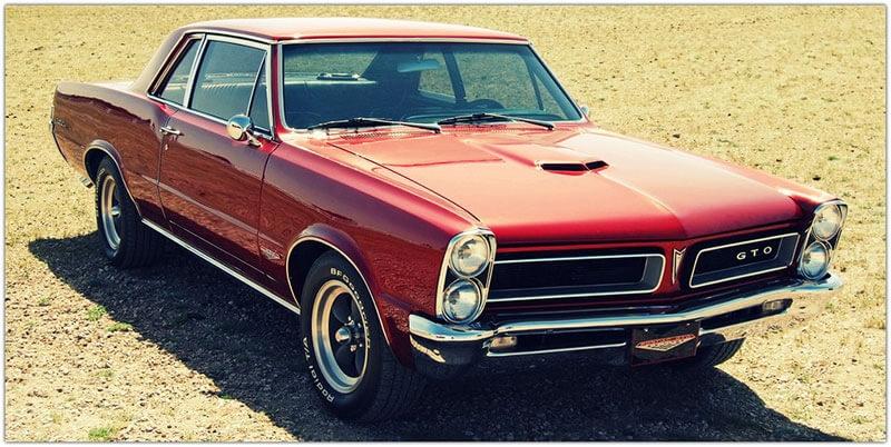 Pontiac GTO — идеальный «muscle-car».