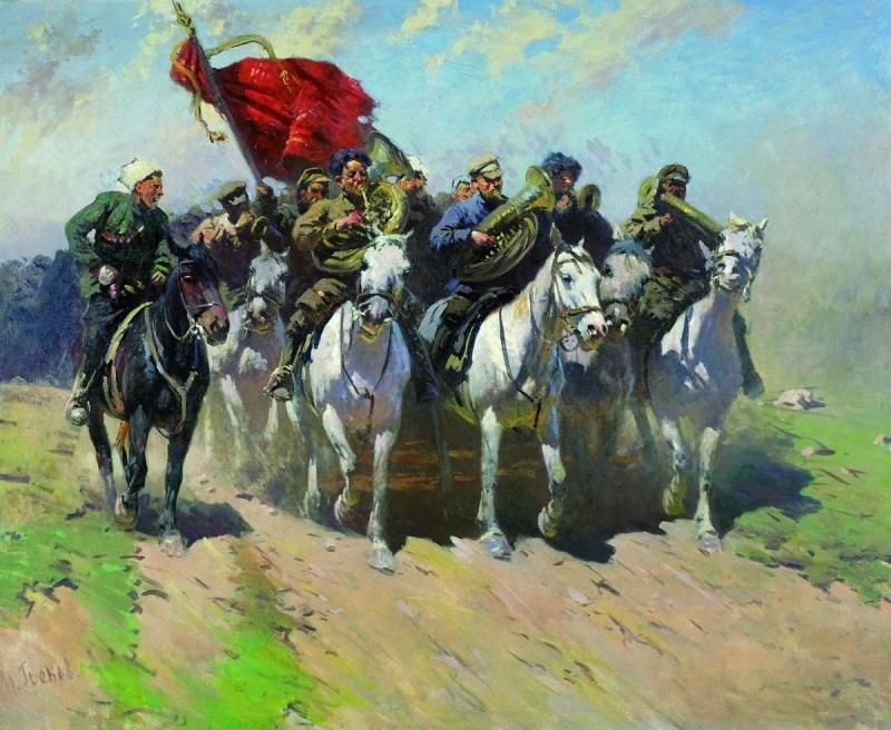 Созданные из ниоткуда: история красных всадников гражданской войны