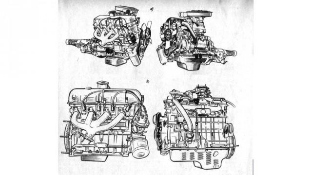 Двигатель УЗАМ-331.10 (б) не особо отличался от исходника для М-412. И то – не в лучшую сторону.