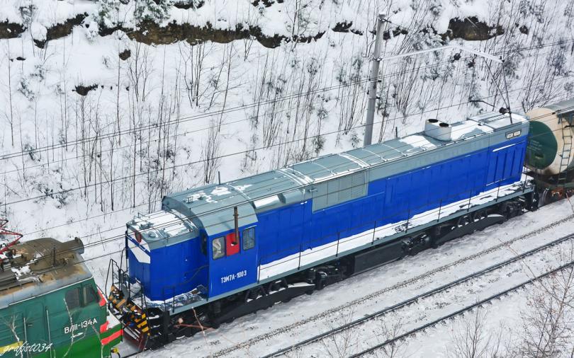 ТЭМ7А-1003 Источник фото: trainpix.org