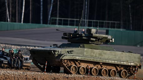 Назад в будущее: новый боевой робот США напоминает танки 1930-х годов