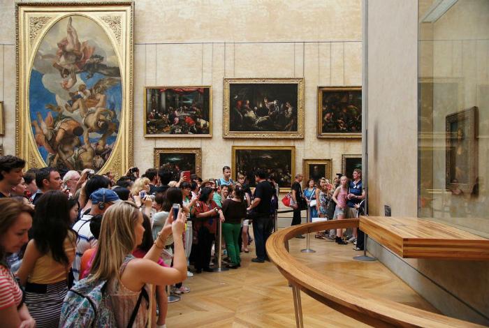 Манящая Мона Лиза. | Фото: Pinterest.