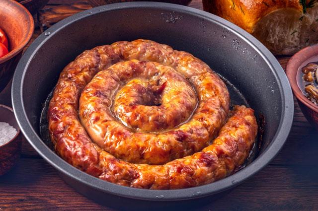 Украинская колбаса.