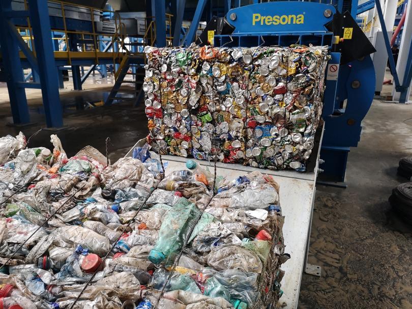 В Подмосковье запустили первую линию крупнейшего в России комплекса по обработке отходов