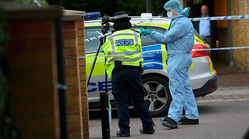 В центре Лондона произошла утечка неизвестного токсичного вещества
