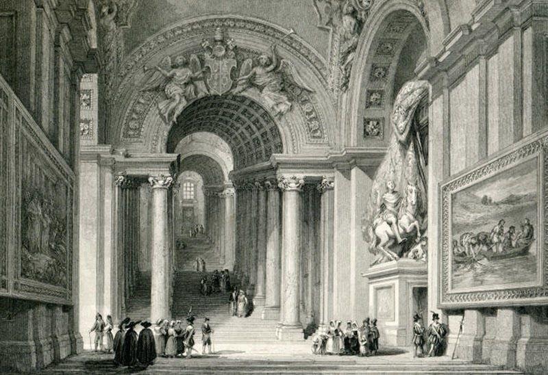 Видение Константина, Ватикан