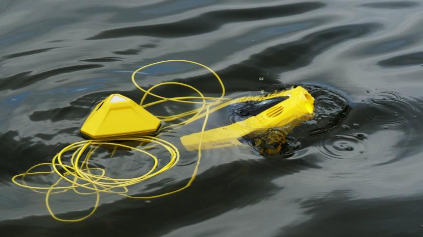 Новый беспилотник Дори -самый доступный подводный дрон