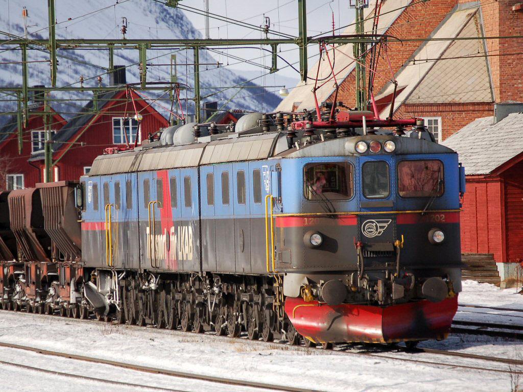 Шведский электровоз ASEA SJ Dm3