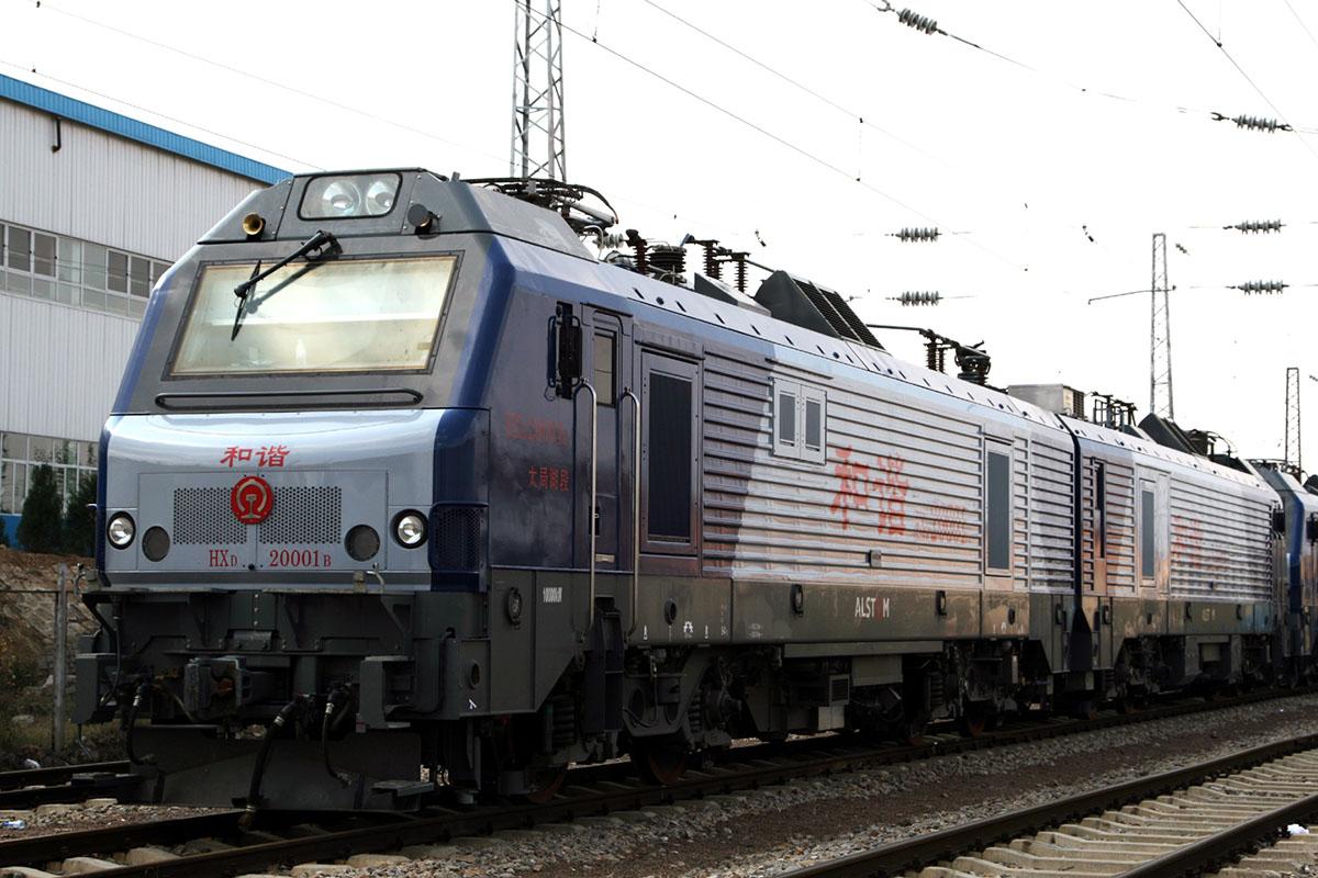 Китайский электровоз HXD2