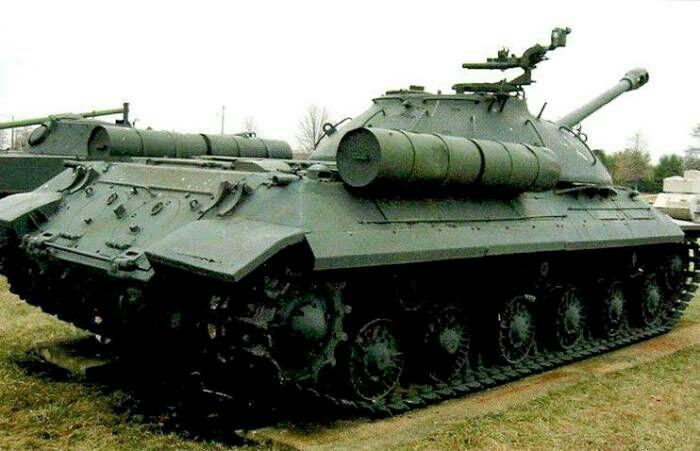 ИС-3, переоборудованный в Израиле. Был захвачен во время Шестидневной войны. /Фото: vilindstore.net