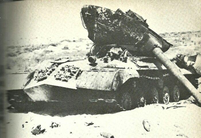 ИС-3, уничтоженный в время Шестидневной войны, 1967 год. /Фото: yaplakal.com