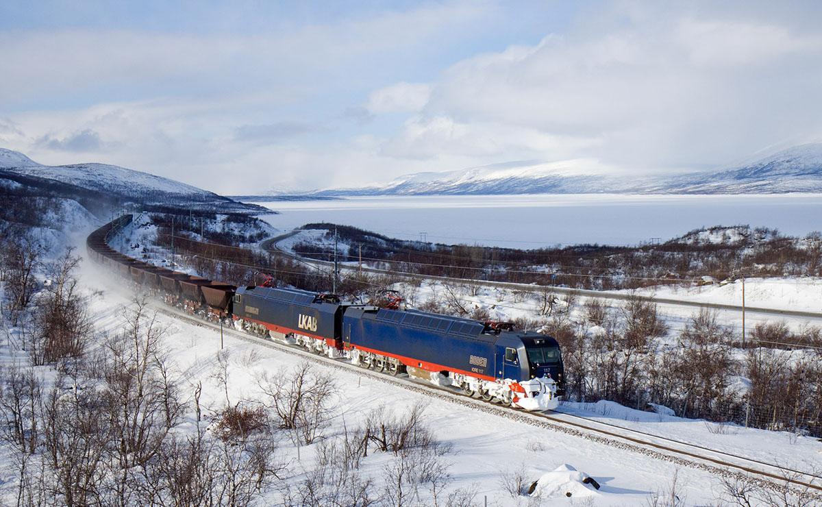 Норвежско-шведский электровоз IORE