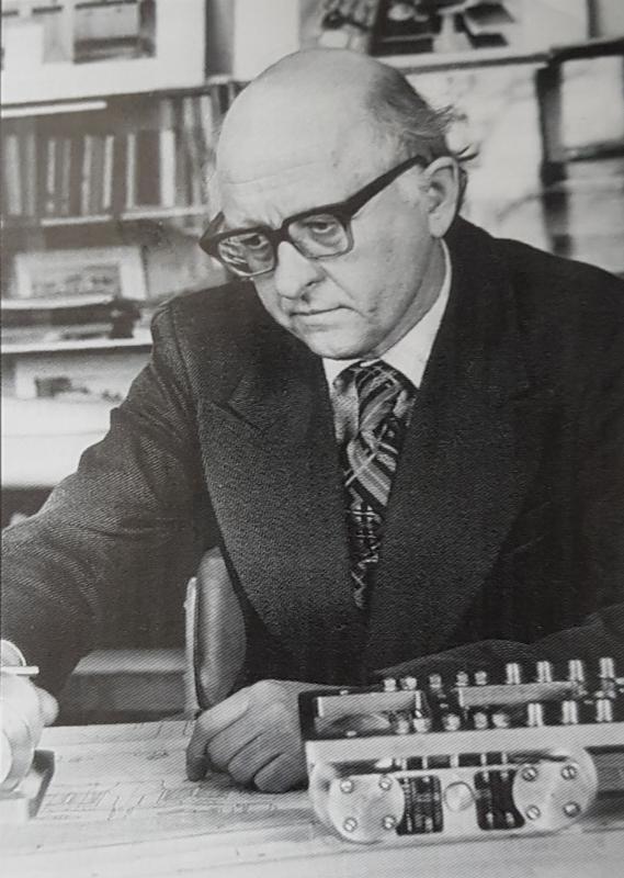 Ю.В. Хлебников, главный конструктор Коломенского завода по локомотивостроению