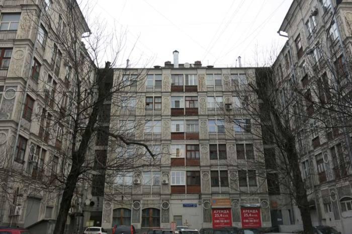 Здание немного напоминает аккордеон. Так его и прозвали. /Фото:berlogos.ru