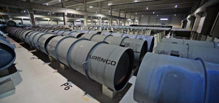 Немецкий гексафторид урана для Росатома