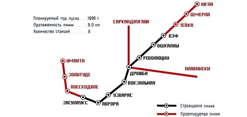 Назло «оккупантам» пошли пешком: как Рига отказалась от метро