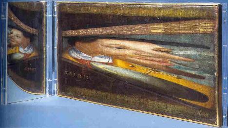 Anonimo El retrato del Emperador Carlos V 1532