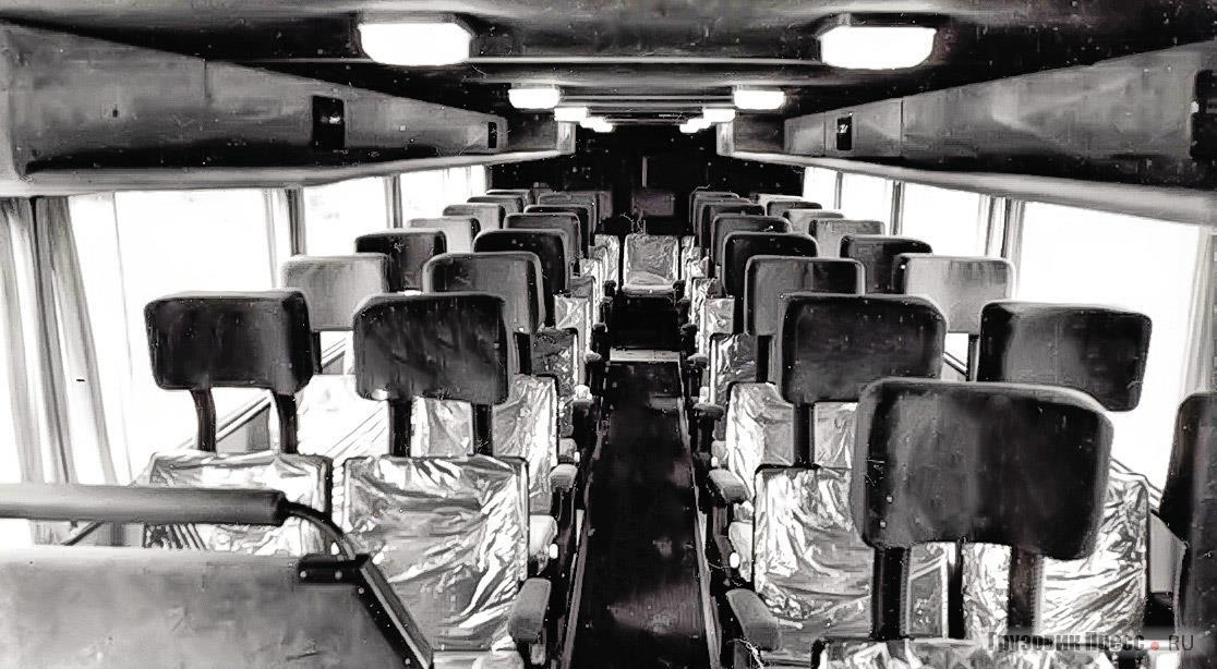 Салон автобуса «Альтерна-4216»