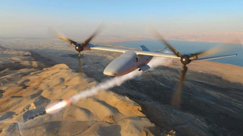 Проект беспилотного ударного конвертоплана V-247 VIGILANT