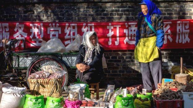 Хотя Китай борется с проблемой бедности, уровень неравенства растет