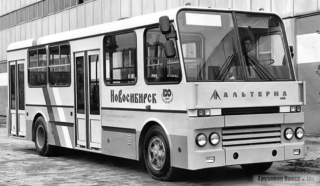 Городской автобус «Альтерна-4216» ликинской сборки