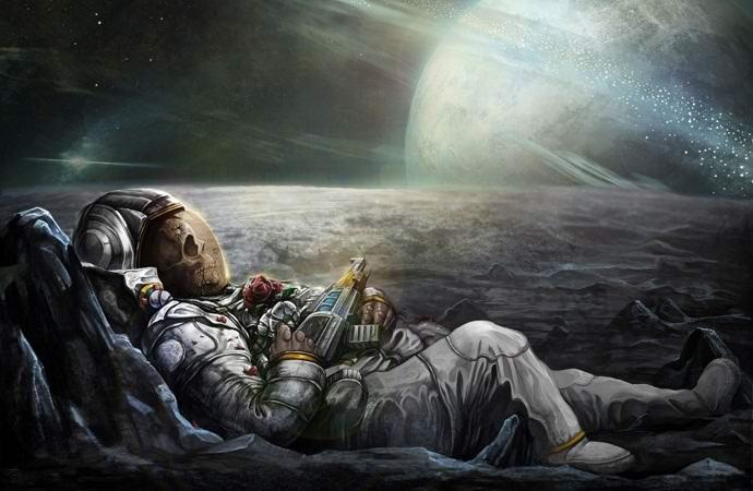 Что произойдет с мертвым телом в открытом космосе