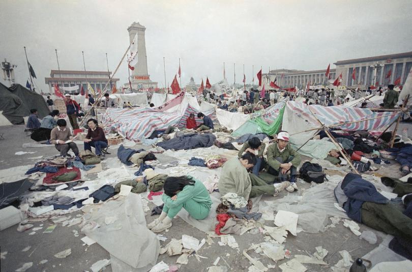События на площади Тяньаньмэнь в Пекине 1989 года