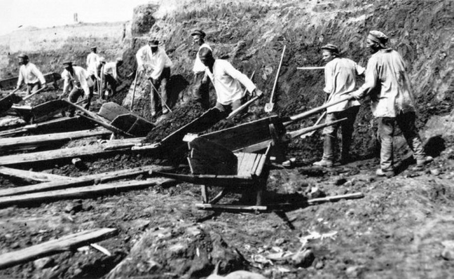 Первые экскаваторы в имперской России и довоенном СССР