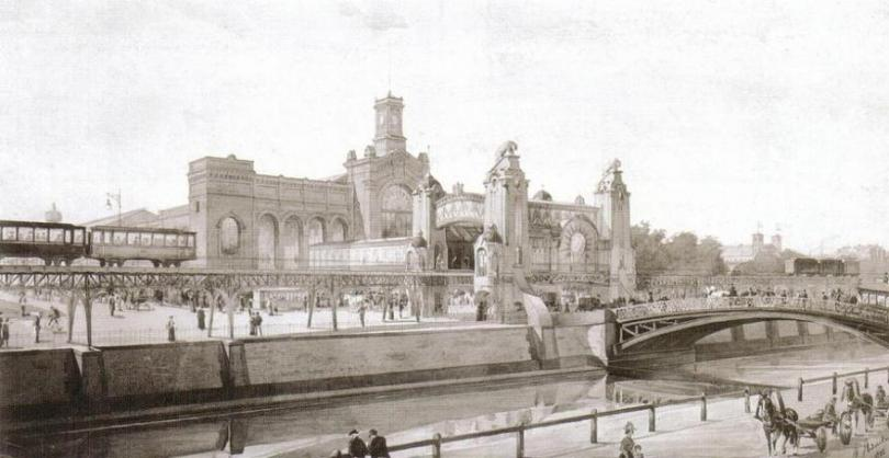 Станция у Варшавского вокзала