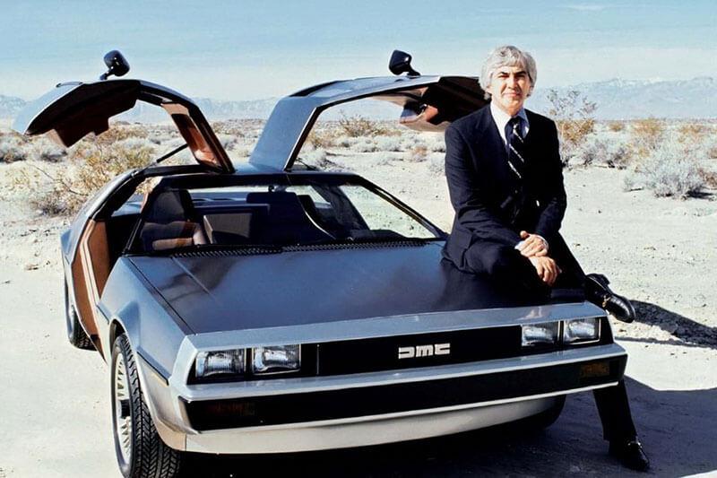 История успеха Джона Делореана — создателя автомобиля DeLorean DMC-12