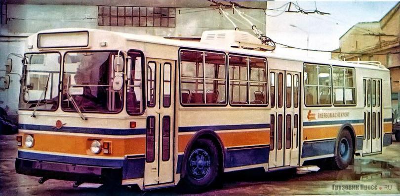 Единственный советский троллейбус ЗИУ-682, построенный специально для Индии