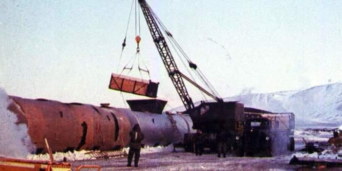 Катастрофа в Гренландии: плутониевый Чернобыль в полярной ночи