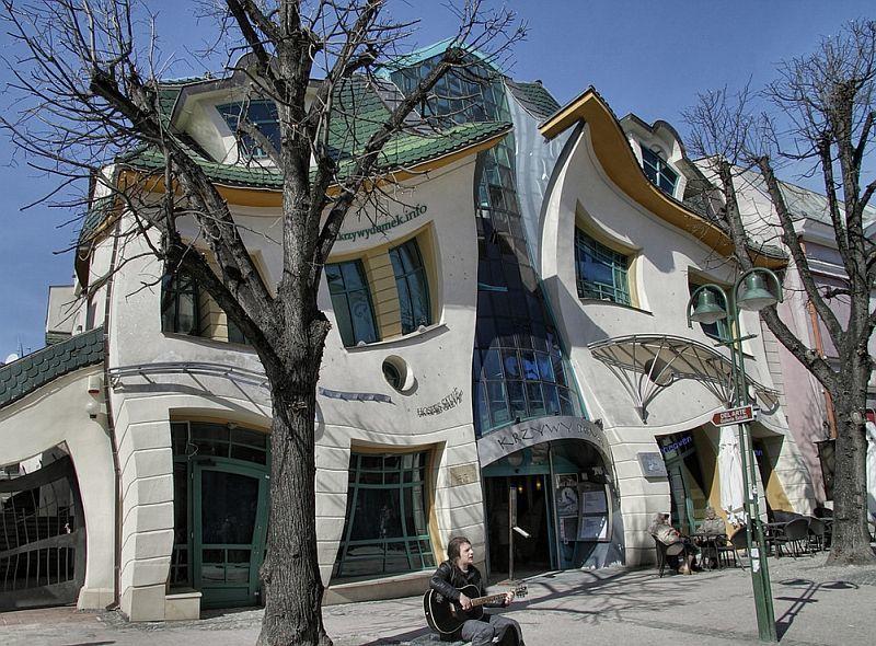 Кривой дом в Сопоте, Польша-фото
