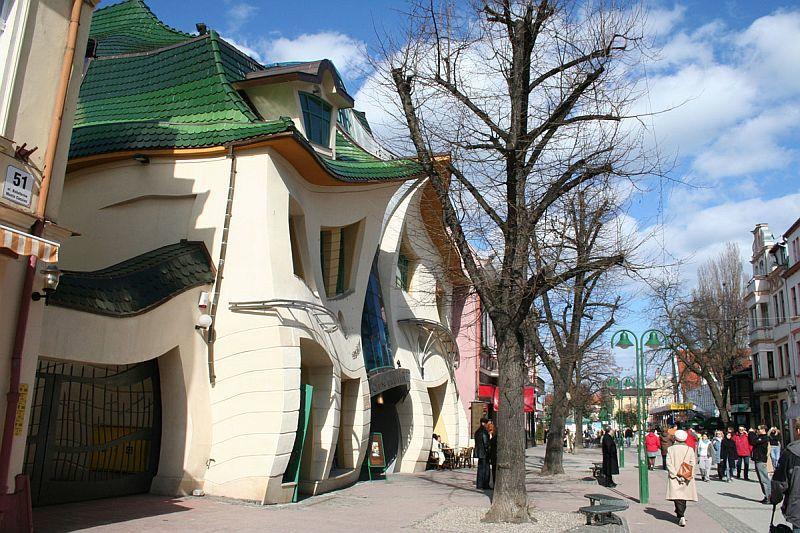 Сопотский krzywy-domek