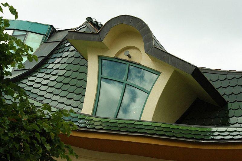 Кривой домик в польском Сопоте