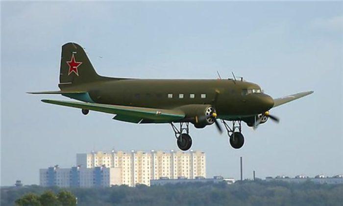 За основу был взят Ли-2.  Фото: zhukvesti.ru.
