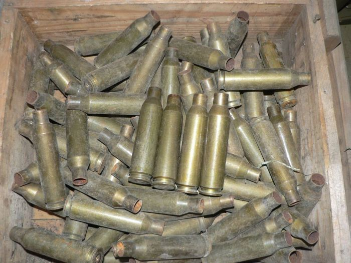 Вот гильзы из стали. |Фото: allzip.org.