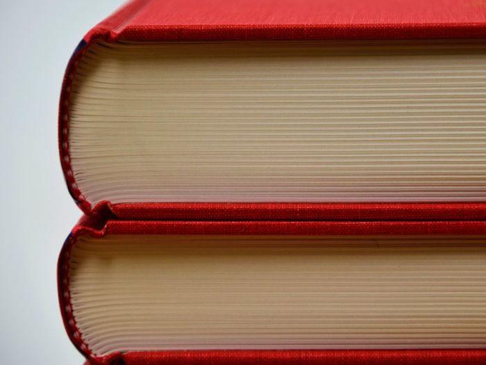 Каждая книга состоит из сшитых тетрадок. |Фото: pixnio.com.