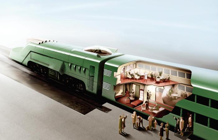 Советский атомный поезд