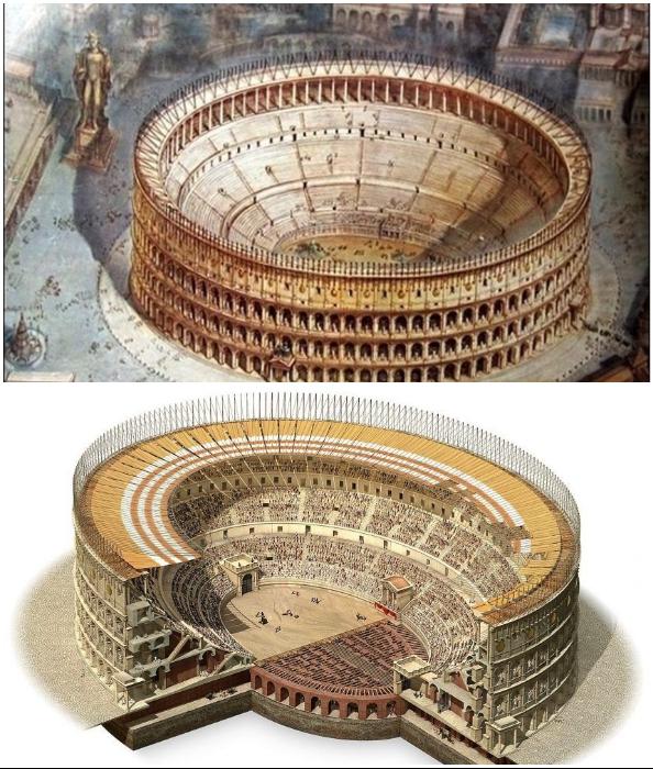 Арене Колизея решили вернуть прежний вид.