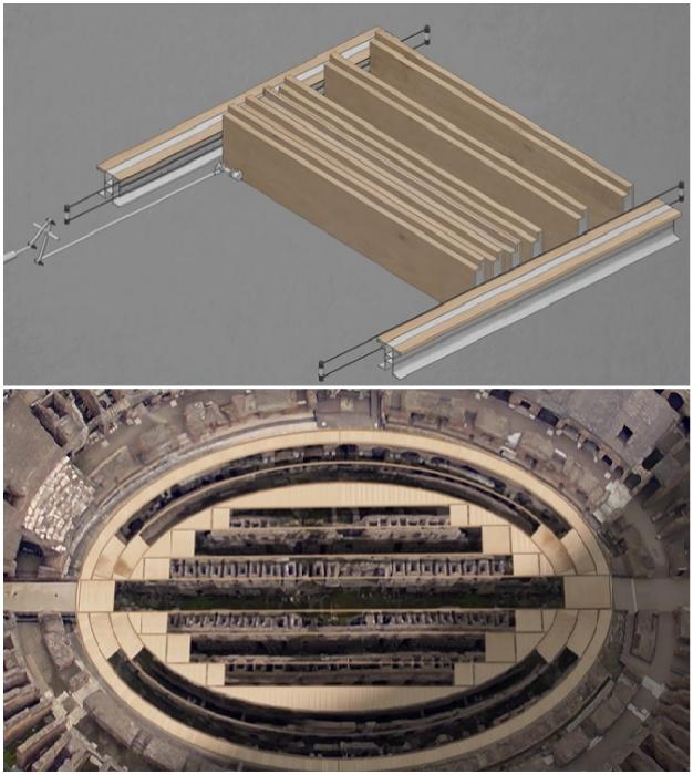 Благодаря инновационным технологиям, демонтировать деревянную платформу можно в считанные минуты.