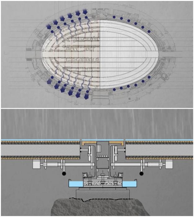 Новым проектом предусмотрено внедрение систем вентиляции и рекуперации воды.