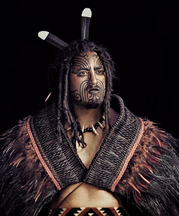 Вождь одного из племен маори. Современная реконструкция. / Фото: twitter.com