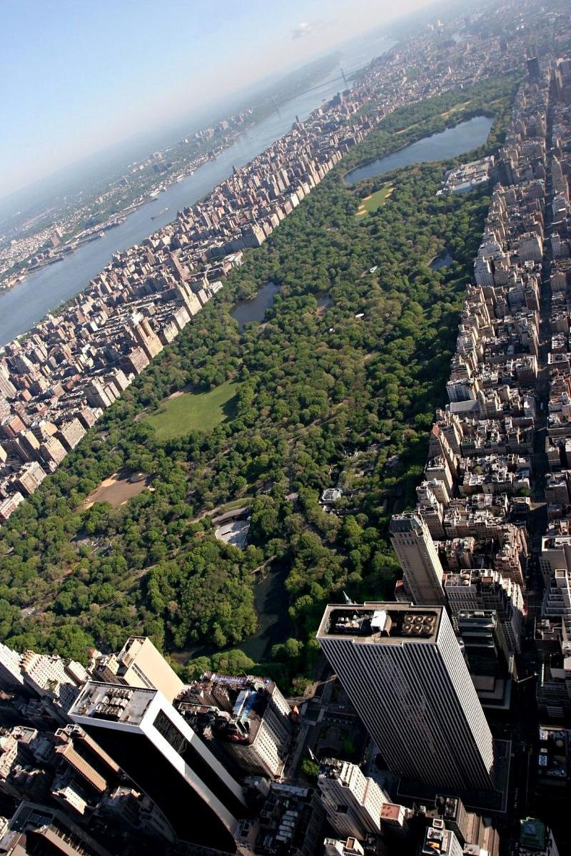 История Центрального Парка в Нью-Йорке (New York Central Park)