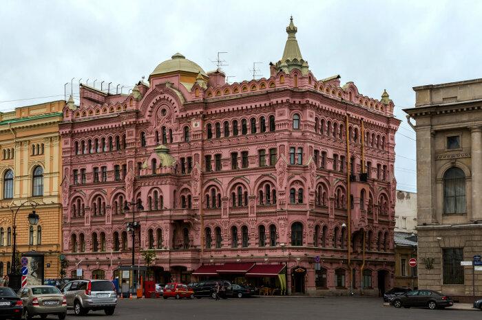 Доходный дом Басина на площади Островского. /Фото:fotokto.ru, Александр Дроздов