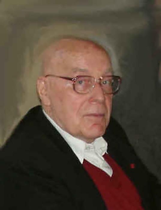 Ганс Альберт в 2005 году.