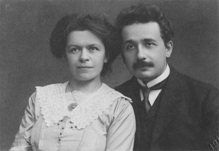 Альберт и Милева Эйнштейн, 1912 год.