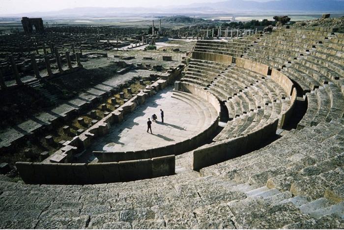 Театр в Тимгаде.